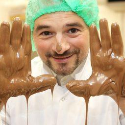 Pasivaikščiojimas šokolado fabrike