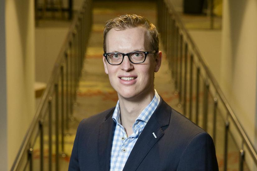 Ad van Zutphen, viens no uzņēmuma 'Driessen' direktoriem